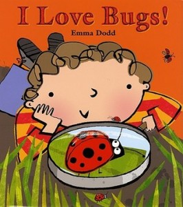 I Love Bugs book cover