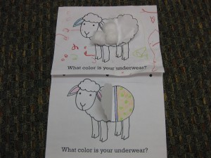 sheep craft toddler