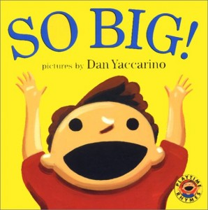 So Big! book cover