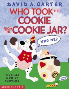 Who Took the Cookie from the Cookie Jar? book cover