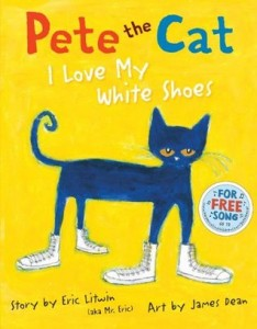 pete the cat i love my white shoes cover image