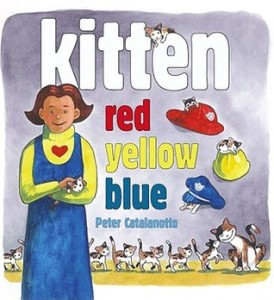 kitten red yellow blue