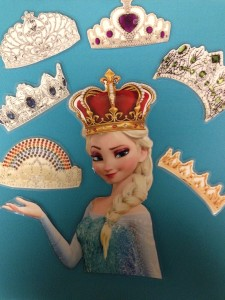 queen elsa's crowns