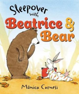 sleepover with beatrice and bear cover image