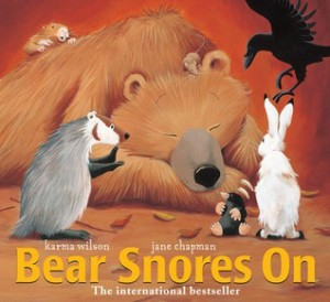 Bear Snores On Cover Image