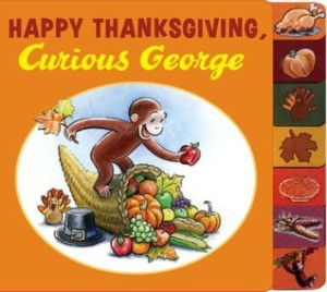 happy thanksgiving curious george cover image