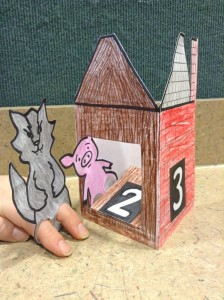 three little pigs preschool story time craft