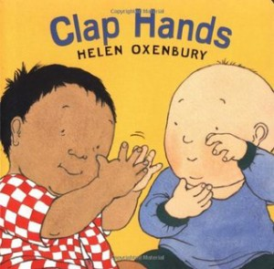 clap hands book cover