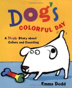 dog's colorful day cover image