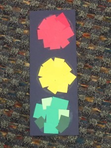 stoplight story time craft