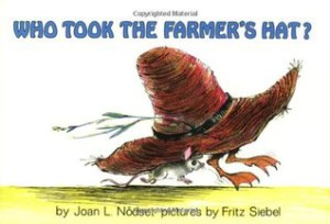Who Took the Farmer's Hat? book cover