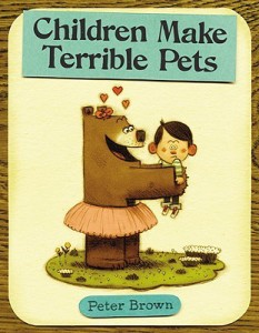 Children Make Terrible Pets book cover