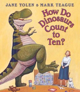 how do dinosaurs count to ten cover image