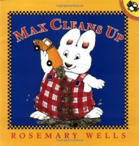 Max Cleans Up book cover