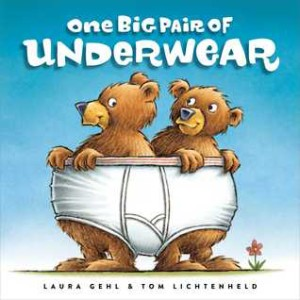 one big pair of underwear cover image