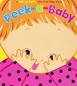 Peek-a-Baby book cover
