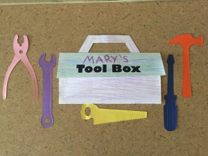 tool box story time craft