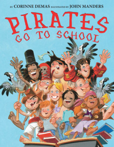 Pirates Go to School book cover