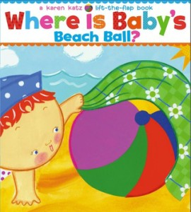 Where is Baby's Beach Ball? book cover