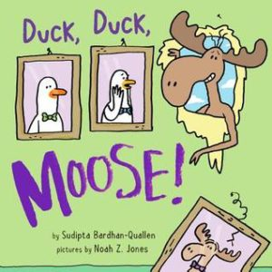 Duck, Duck, Moose! book cover