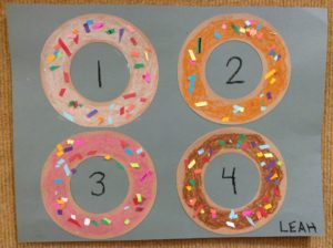 baking donut preschool story time craft