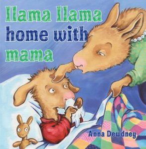 llama llama home with mama cover image