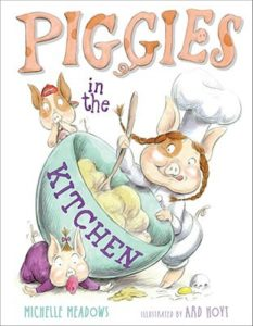 Piggies in the Kitchen book cover