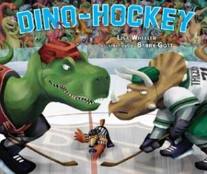 Dino-Hockey book cover