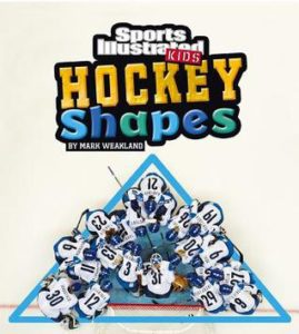 Hockey Shapes book cover