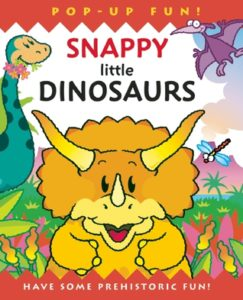 Snappy Little Dinosaurs book cover