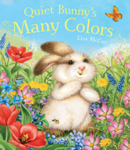 Quiet Bunny's Many Colors book cover