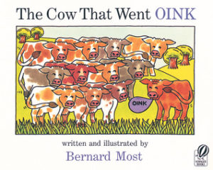 The Cow That Went Oink book cover