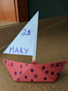 boat story time craft