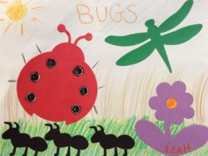 bug preschool story time craft