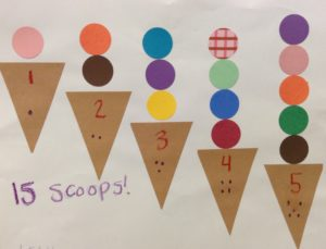 ice cream cone preschool story time craft