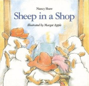 Sheep in a Shop book cover