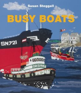 Busy Boats book cover