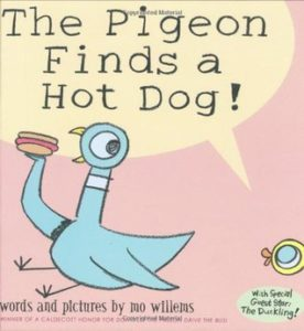 The Pigeon Finds a Hot Dog book cover