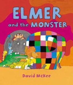Elmer and the Monster book cover