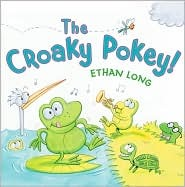 The Croaky Pokey! book cover